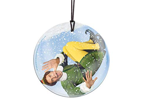 Trend Setters Will Ferrell - Buddy The Elf - Snow Globe - Christmas Movie Collectible - Suncatcher Hanging Glass Collectible (Ornament Elf The Buddy)