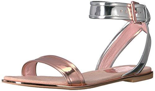 Ted Baker Women's Alella Synt AF Silver/Rose Gold Pump