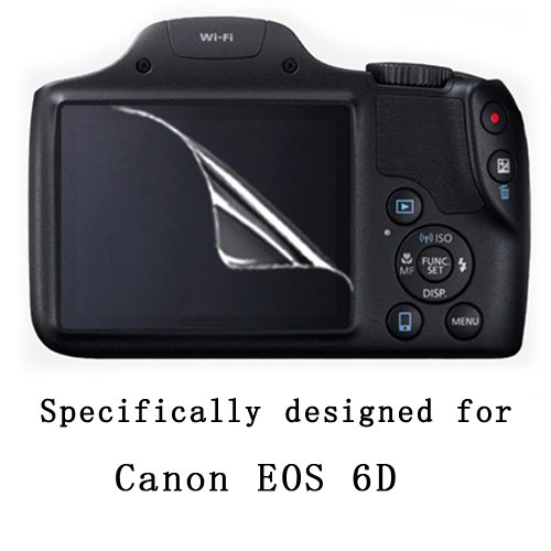 Screen Protector Guard Film for Canon 6D Camera