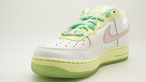 Nike Air Force 1 06 (GS) Mädchen Sneakers White/Perfect Pink-Lime-Trmln