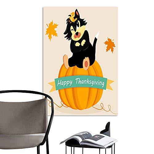 UHOO Art Painting Home ModernHoliday Card for Thanksgiving