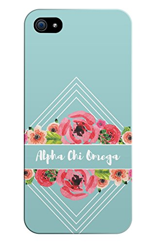 alpha chi omega iphone 5 case - 1