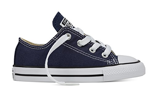 ler's Chuck Taylor All Star Low Top Fashion Shoe Navy 7C (Converse Boys Shoes)