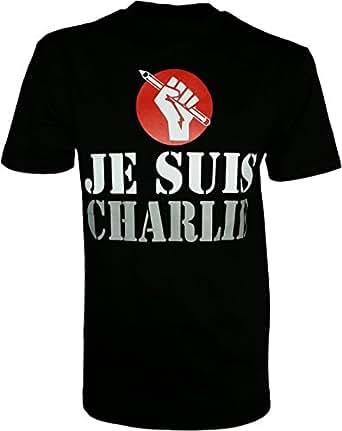 Je Suis Charlie, I am Charlie, Charlie Hebdo Attack Protest T-Shirt