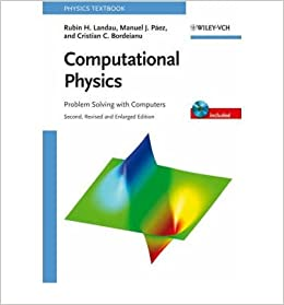amazon computational physics problem solving with computers