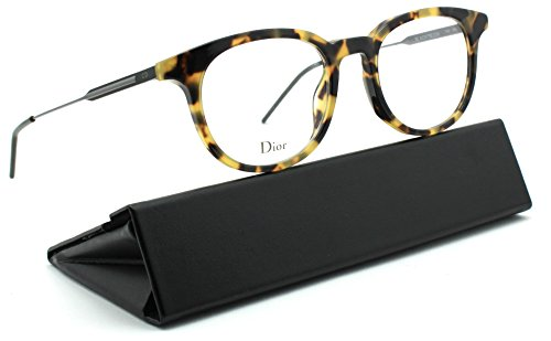 dior-homme-black-tie-229-unisex-round-eyeglasses-havana-matte-khaki-frame-0tdf-51