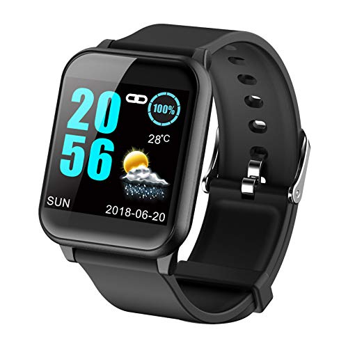 Fitness Tracker Heart Rate Monitor Blood Pressure Smart Watches for Android iOS Pedometer Activity Tracker Watch