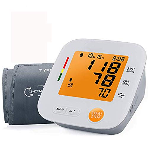Blood Pressure Monitor Automatic Upper Arm Blood Pressure Cuff 2 User Mode 180 Memory Capacity for Home Travel Use FDA Approved