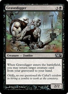 Magic the Gathering: Gravedigger - Magic 2010 Core Set