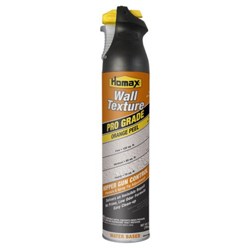 Homax Group Inc GIDDS-288915 4592 Wall Texture Orange Peel Water Based, 25 Oz, White, Tinted