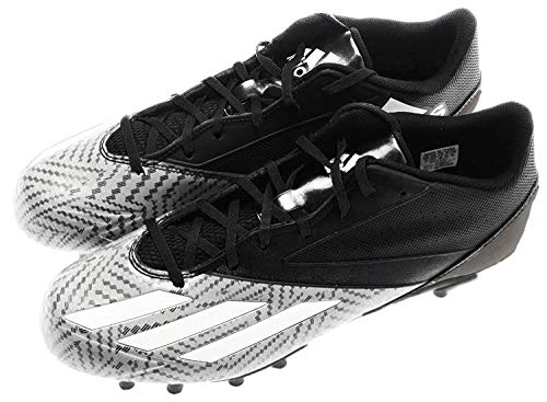 adidas Men's 5-Star Low d Football Shoe, Black/Platinum/White, 11.5 M US