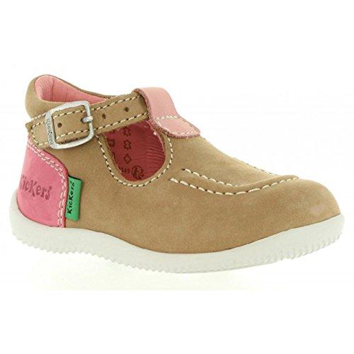 Fille Chaussures Beige 218126 et BONBEK pour Rose Kickers 10 Garçon 113 Ifwx4AqA