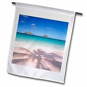 Danita Delimont - Hawaii - Lanikai Beach, Kailua, Oahu, Hawaii, USA - US12 DPB1580 - Douglas Peebles - 18 x 27 inch Garden Flag (fl_89735_2)