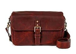 Ona - The Bowery - Camera Messenger Bag - Bordeaux Leather (Ona5-014lbw)