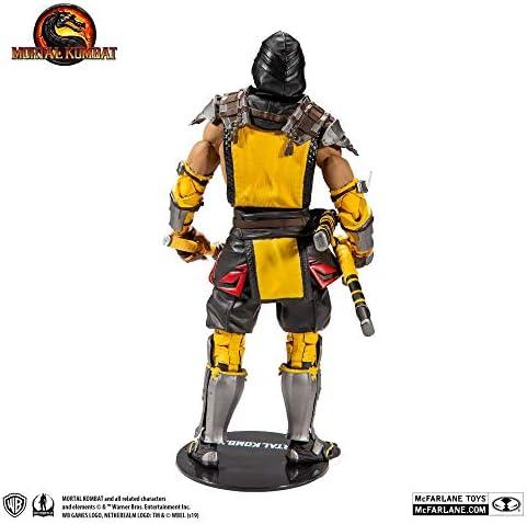 McFarlane Mortal Kombat Scorpion 7 Inch Figura de Accións: Amazon.es: Juguetes y juegos