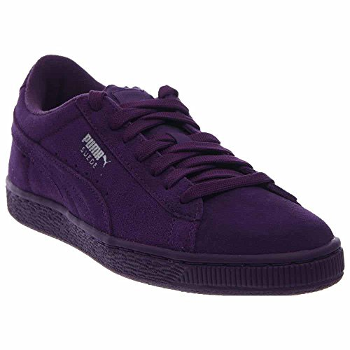 Purple Suede Kids Shoes - PUMA Suede Jr Classic Kids Sneaker (Little Kid/Big Kid), Imperial Purple/Imperial Purple, 4.5 M US Big Kid