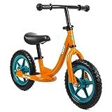 Retrospec by Westridge Cub Balance Bike No Pedal Kids Bicycle, Orange