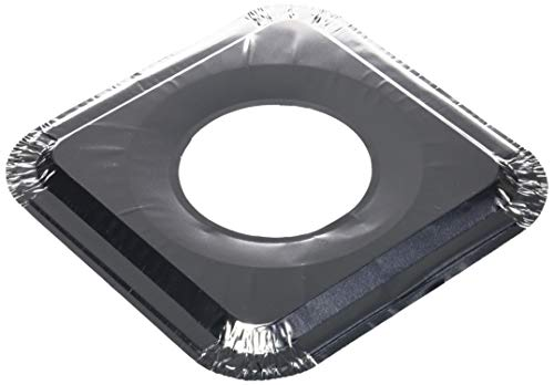 Aluminum Foil Square Gas Stove Burner Covers Pack Of 100