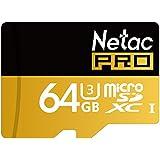 Pink Lizard Netac Pro P500 64GB UHS-I U3 TF Card Micro SDXC Card For Mobile Phone