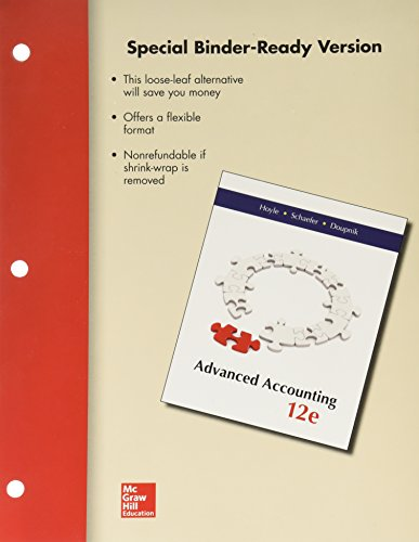advanced accounting looseleaf - 5