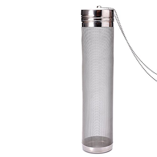 300 Micron Mesh Stainless Steel Dry Hopper Brewing Filter For Cornelius Kegs Corny Keg Home Brewing  2 8 X 11 8 In