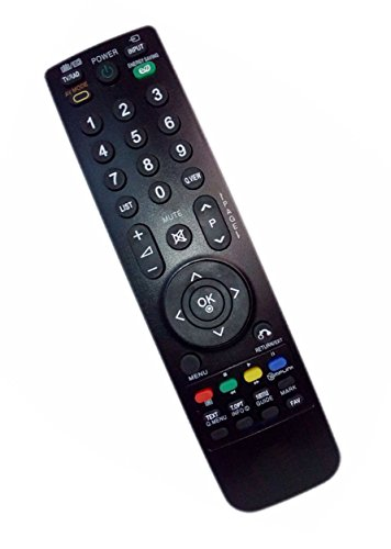 Replaced Remote Control Compatible for LG 26LD322HZA AKB69680401 42PQ30C Z50PJ240UB 47LH30-UA 42LH200CUA HDTV TV (Control Remote Akb69680401 Tv Lg)