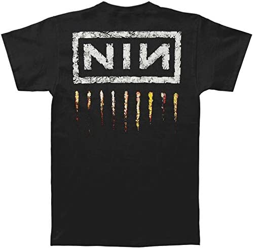 Nine Inch Nails Men's Downward Spiral Slim Fit T-Shirt Black