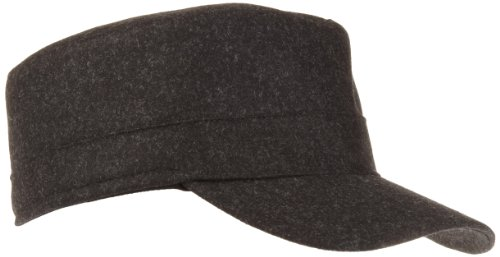 Tilley Endurables Tec-Wool Cap,Black Mix,Medium (7 1/8-7 1/4)