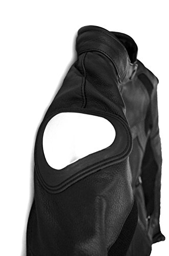 Clutch and Canyon Women's Leather Motorcycle Jacket (X-Small) by Clutch and Canyon (Image #3)