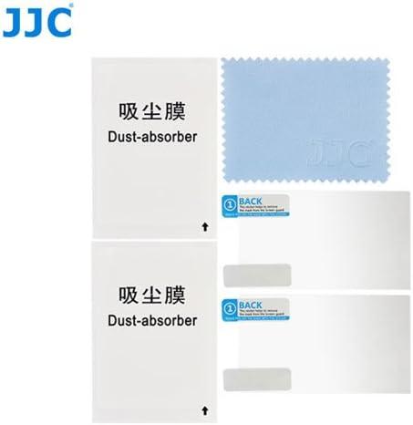 2 Kits JJC LCP-FZ300 ultra hard polycarbonate LCD Film Screen Protector For Panasonic DMC-FZ300