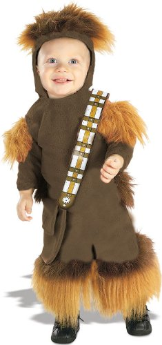 Kids Chewbacca Costumes (Chewbacca EZ-On Romper Baby Infant Costume -)