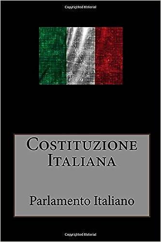 La Costituzione della Repubblica Italiana (Italian Edition)