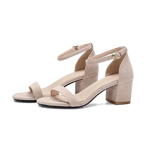 Mini Urethane Womens Cold Size Apricot AdeeSu Dress SLC03932 Lining Sandals wqZPTnTF