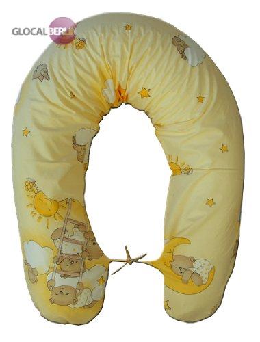 Cojín para embarazo y lactancia cojín para dormir durante el almohada para dormir de lado de