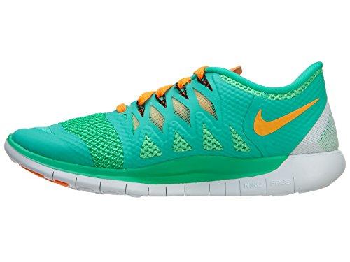 Nike  Free 5.0 - Zapatillas para mujer Menta/Bright Citrus-Green Glow