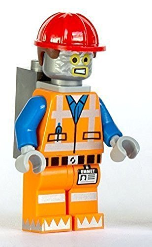 LEGO Movie Robo Emmet Minifigure (Robot Tinfoil Disguise) (Lego Movie Minifigs)