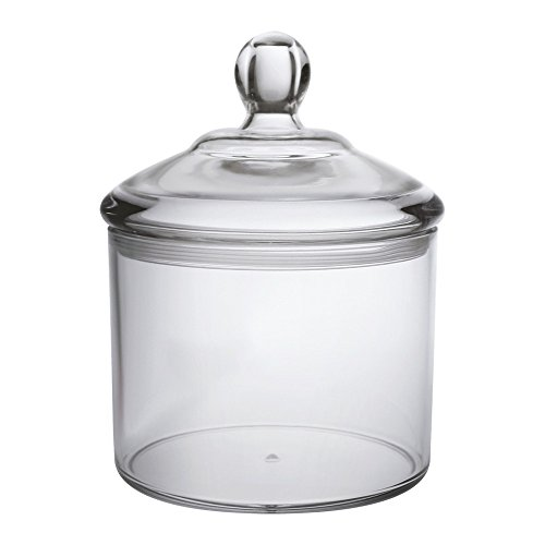 Premium Quality Acrylic Food Jar, Cookie Jar With Airtight Seal Lid, Break-Resistant, BPA-Free, 40 Oz