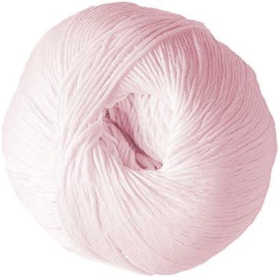 DMC Natura - Ovillo de Lana 100% algodón, Color Rosa: Amazon.es: Hogar