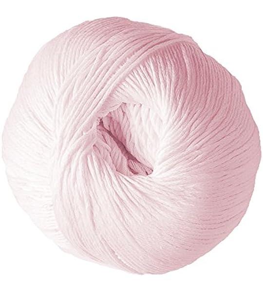 DMC Natura - Ovillo de lana (100% algodón, 9 x 9 x 7 cm), color rosa: Amazon.es: Hogar