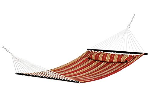 Best Sunshine Hammock Quilted Fabric with Pillow for for sale  Delivered anywhere in USA