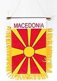 Macedonia (Fyrom) - Window Hanging Flags