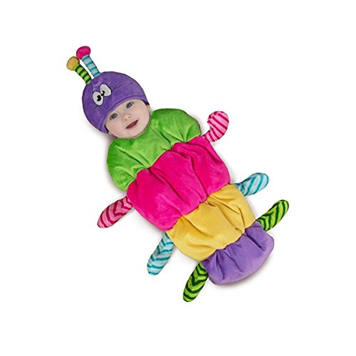 Rainbow Caterpillar Baby Infant Costume - Newborn Small (Adult Caterpillar Costumes)