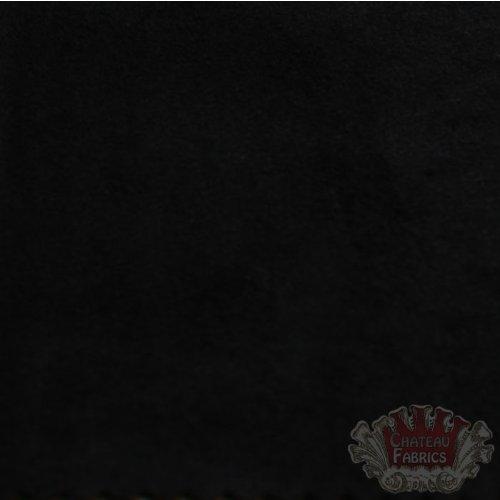 Suede Microsuede Upholstery Fabric-Black- 58
