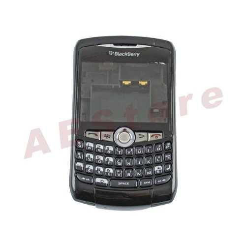 8310 Housing - BlackBerry CURVE 8300 8310 8320 Full black housing and keyboard