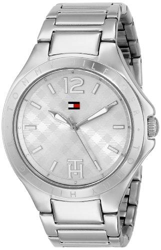 (Tommy Hilfiger Women's 1781408 Analog Display Quartz Silver Watch)