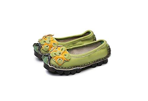 NIUERTE Bas Femme - Vert - Green, 36.5 EU