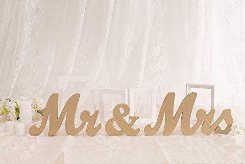 Vintage Wooden Letters Wedding Decoration product image