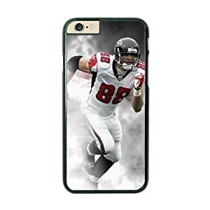 NFL Case Cover For Apple Iphone 6 4.7 Inch Black Cell Phone Case Atlanta Falcons QNXTWKHE1848 NFL Personalized Phone Protective