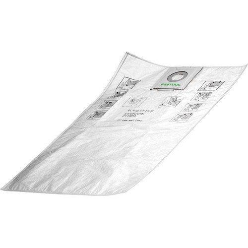 Festool 497539 Self Clean Filter Bags for Ct 48 - Festool Filter Bag