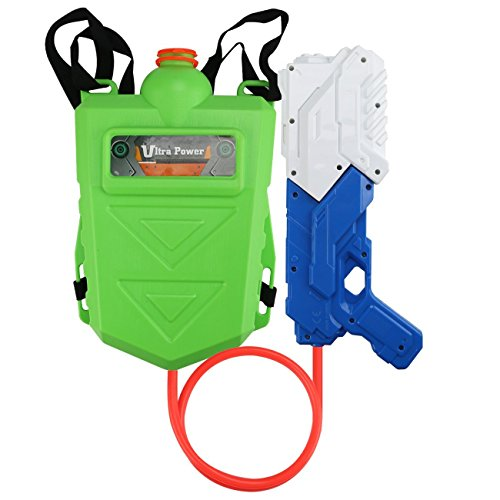 Kids Backpack Toy Water Gun, Large Capacity Water Blasters and Soakers for Boys, Summer Beach Water Toy for kids